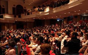 在香港理工大学举办的少林禅武医讲座